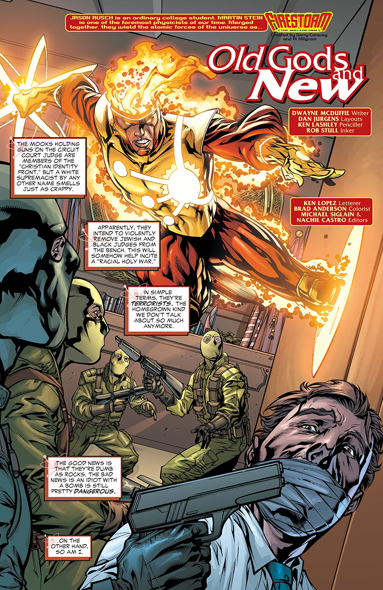 Firestorm: The Nuclear Man (2004-2007) #33