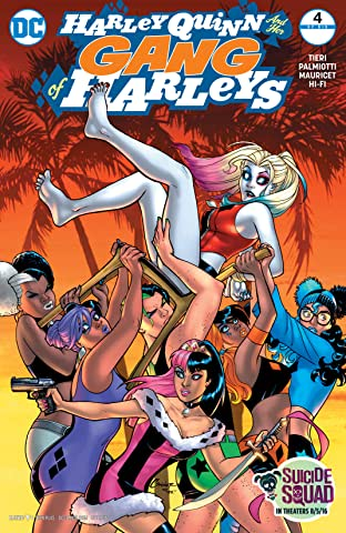 Harley Quinn and Her Gang of Harleys (2016) No.4