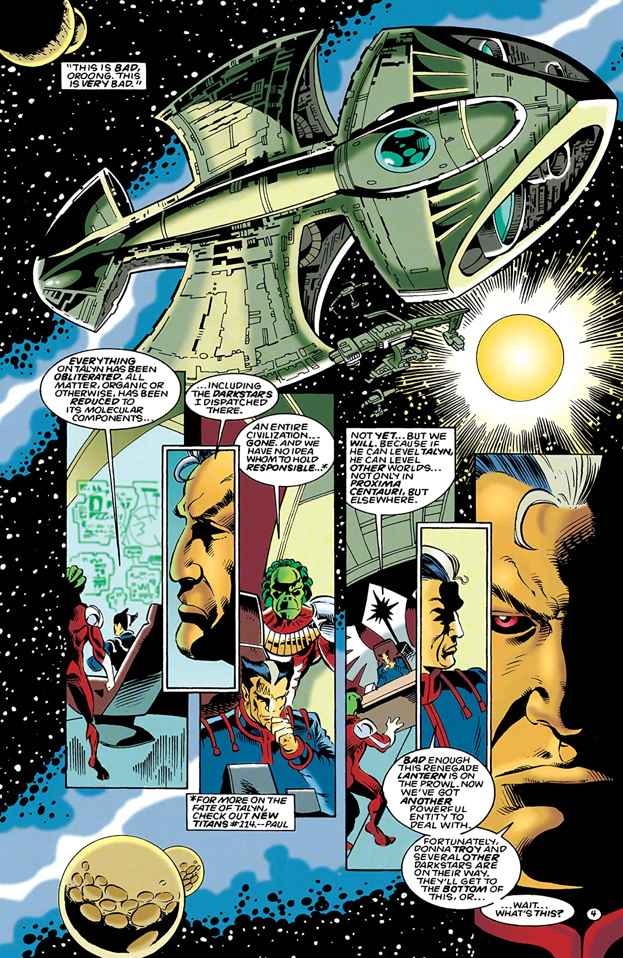 The Darkstars (1992-1996) #25