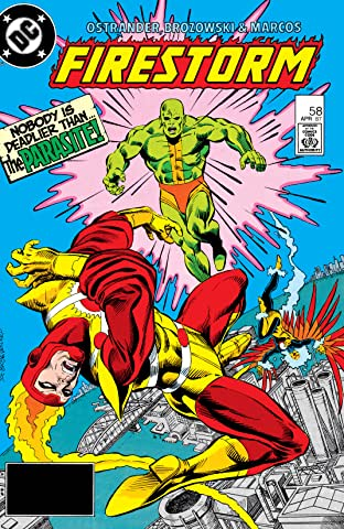 The Fury of Firestorm (1982-1990) #58