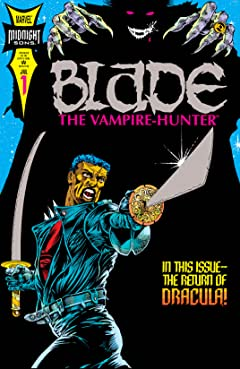 Blade: The Vampire Hunter (1994-1995) No.1