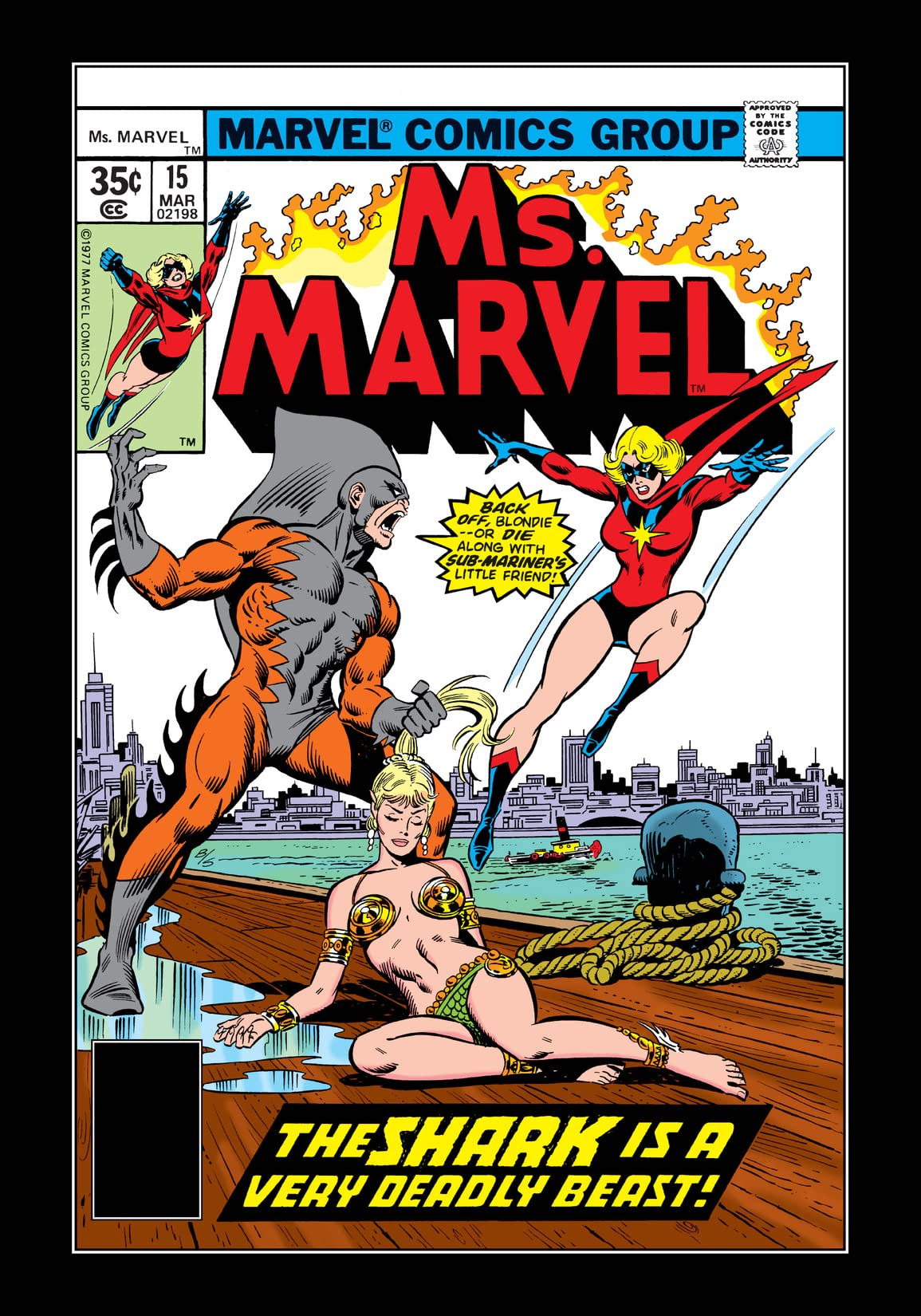 Ms. Marvel (1977-1979) #15