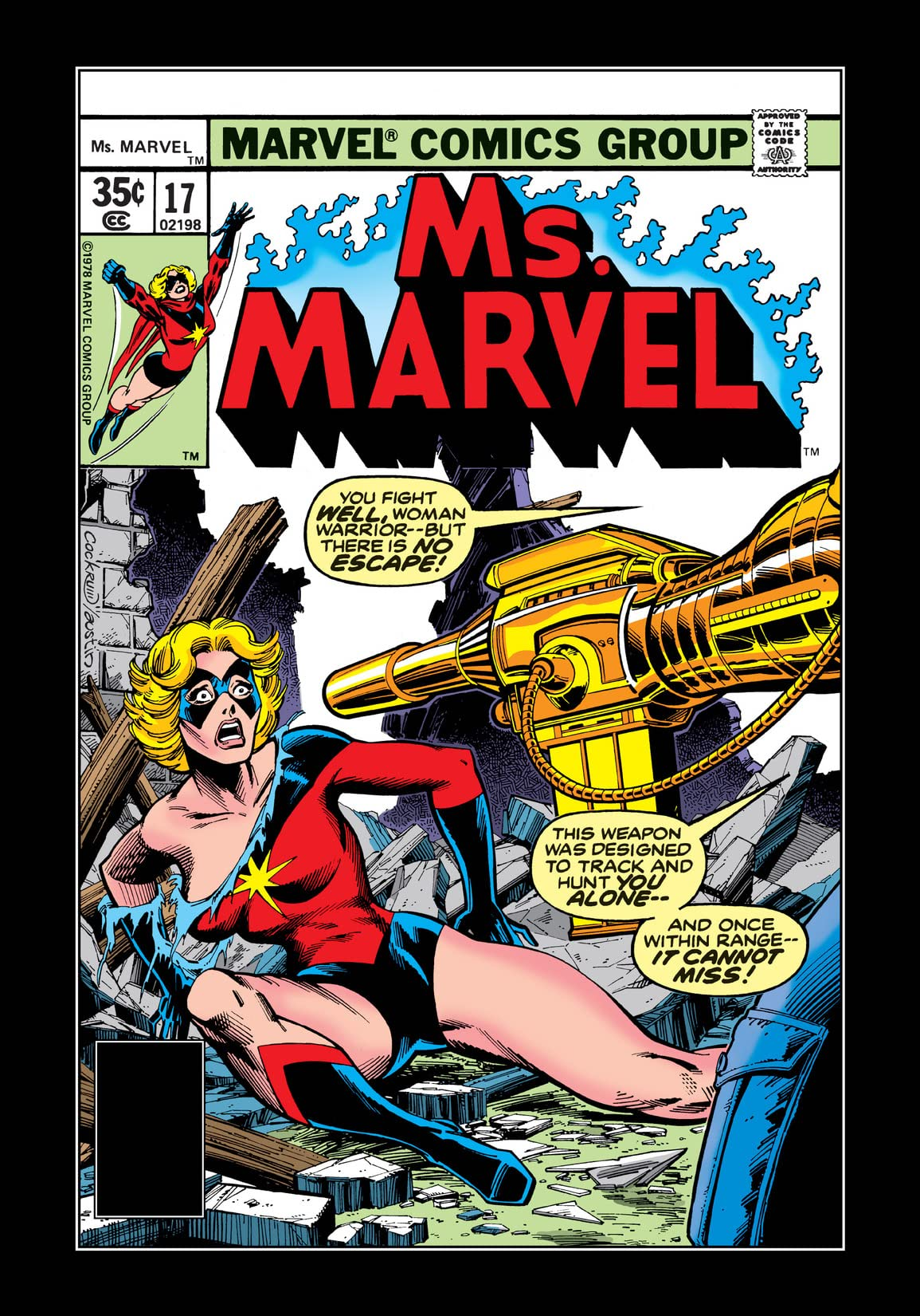 Ms. Marvel (1977-1979) #17