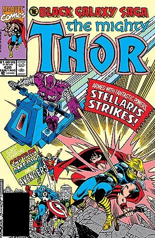 Thor (1966-1996) #420