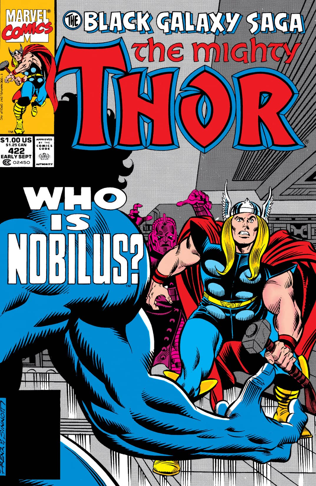 Thor (1966-1996) #422