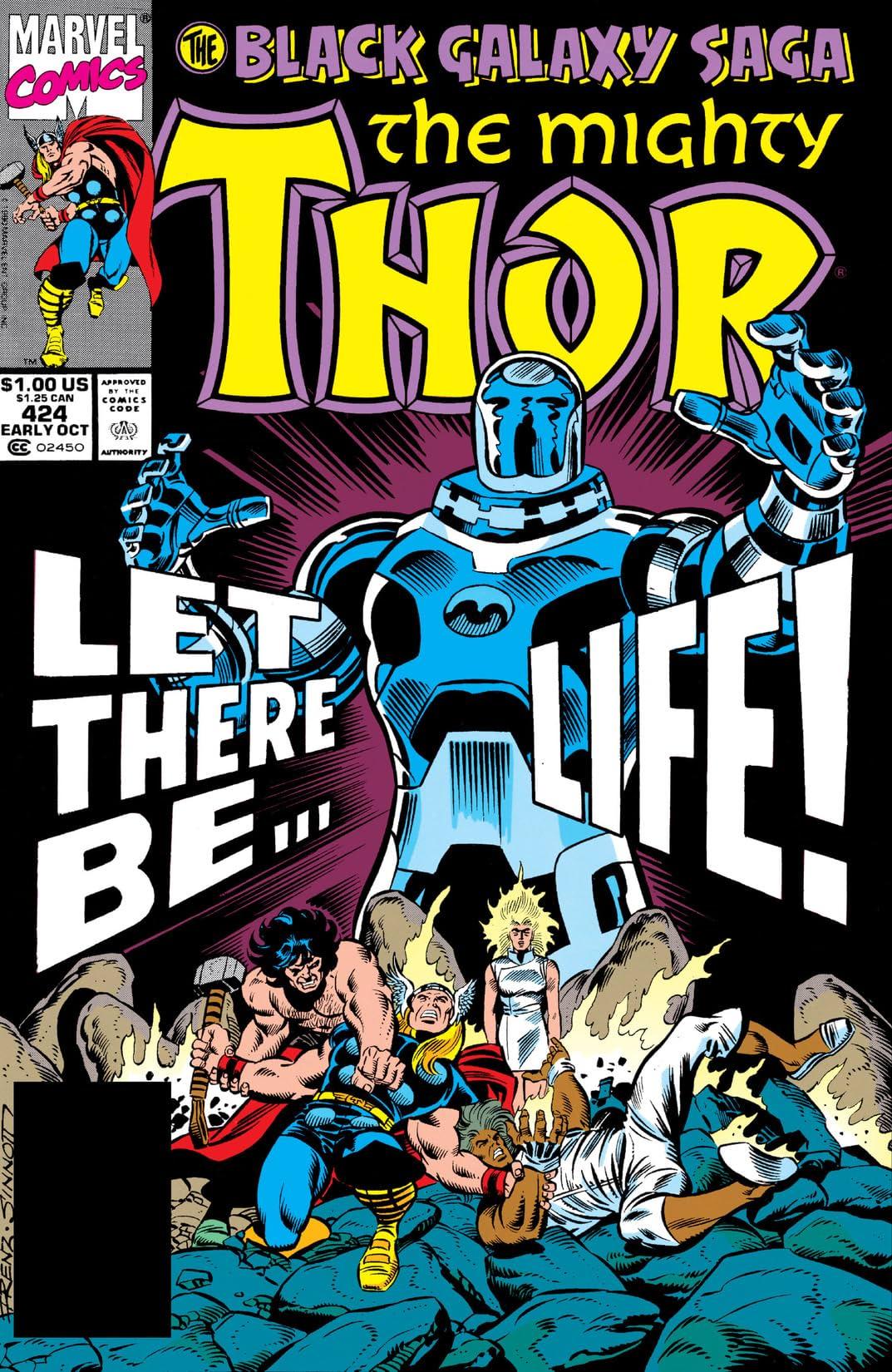 Thor (1966-1996) #424
