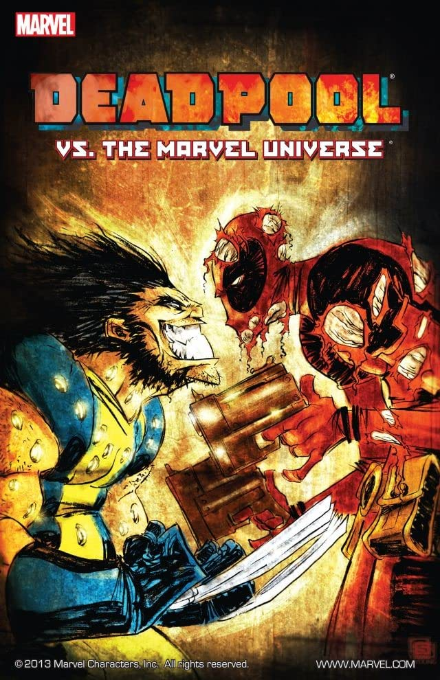 Deadpool vs. The Marvel Universe