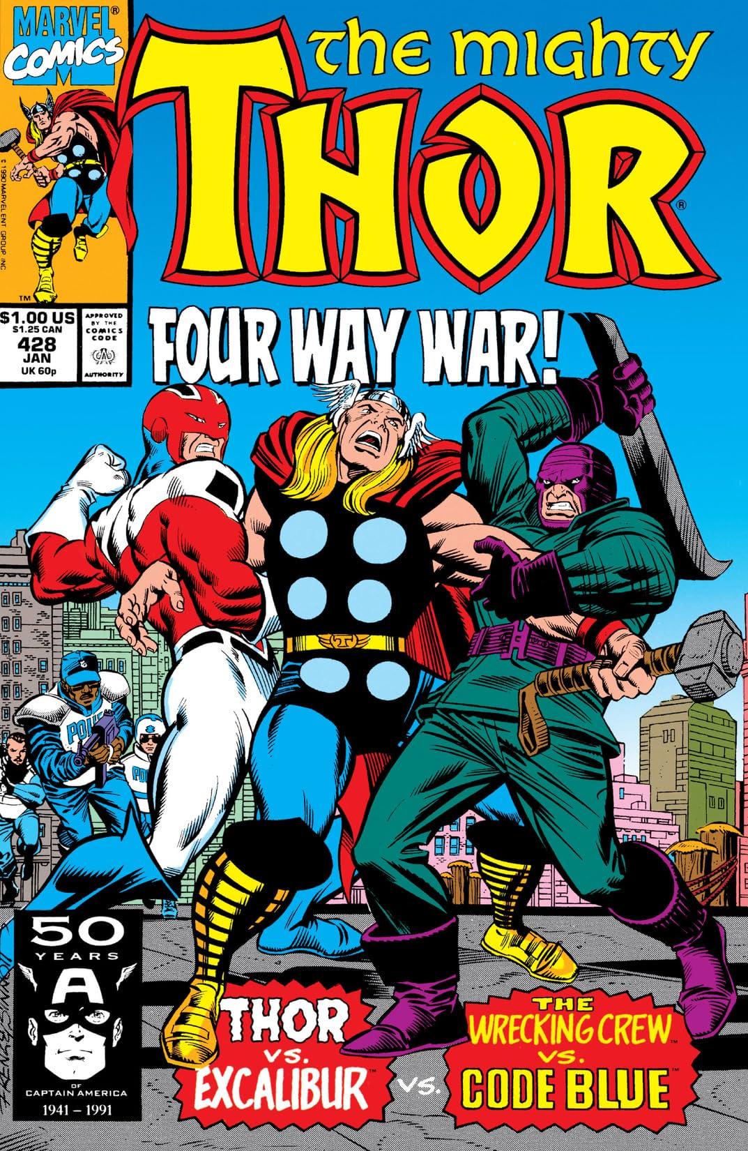 Thor (1966-1996) #428