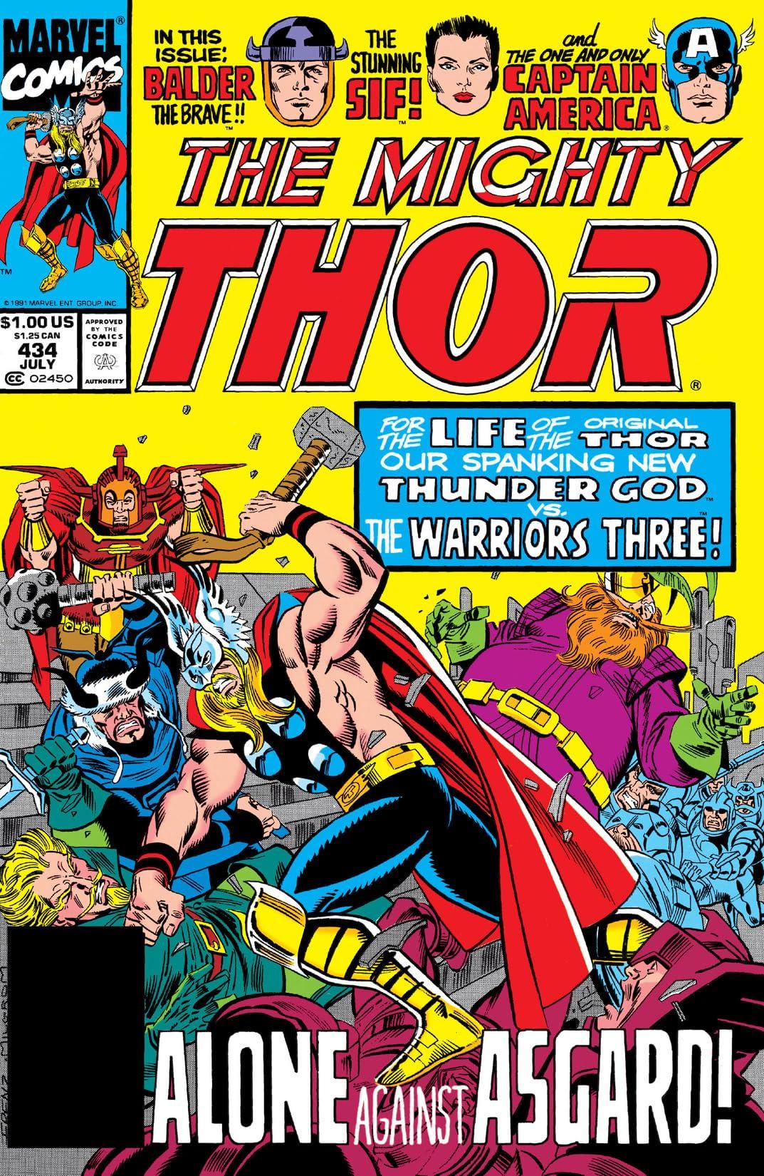 Thor (1966-1996) #434