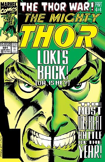 Thor (1966-1996) #441