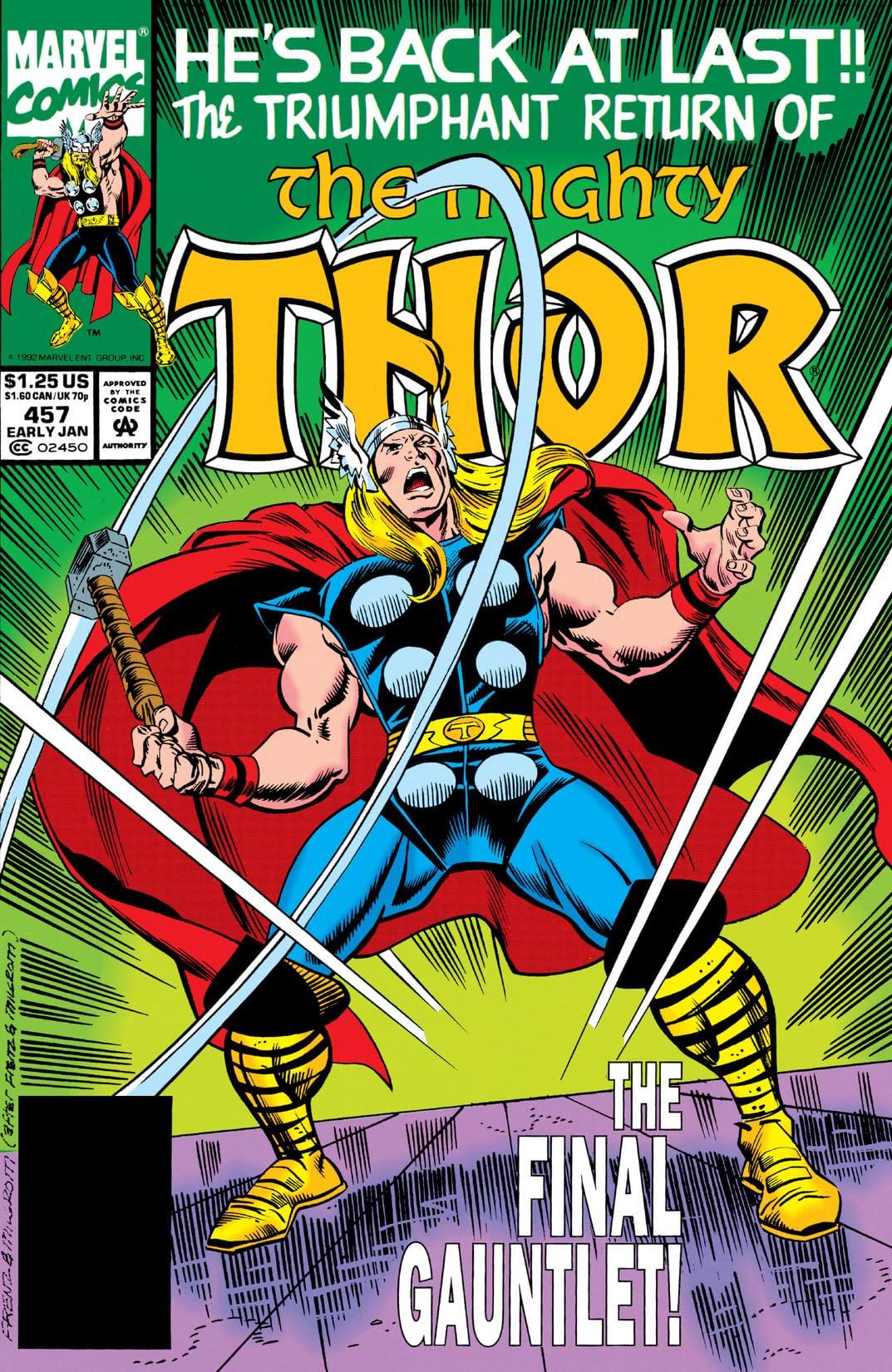 Thor (1966-1996) #457