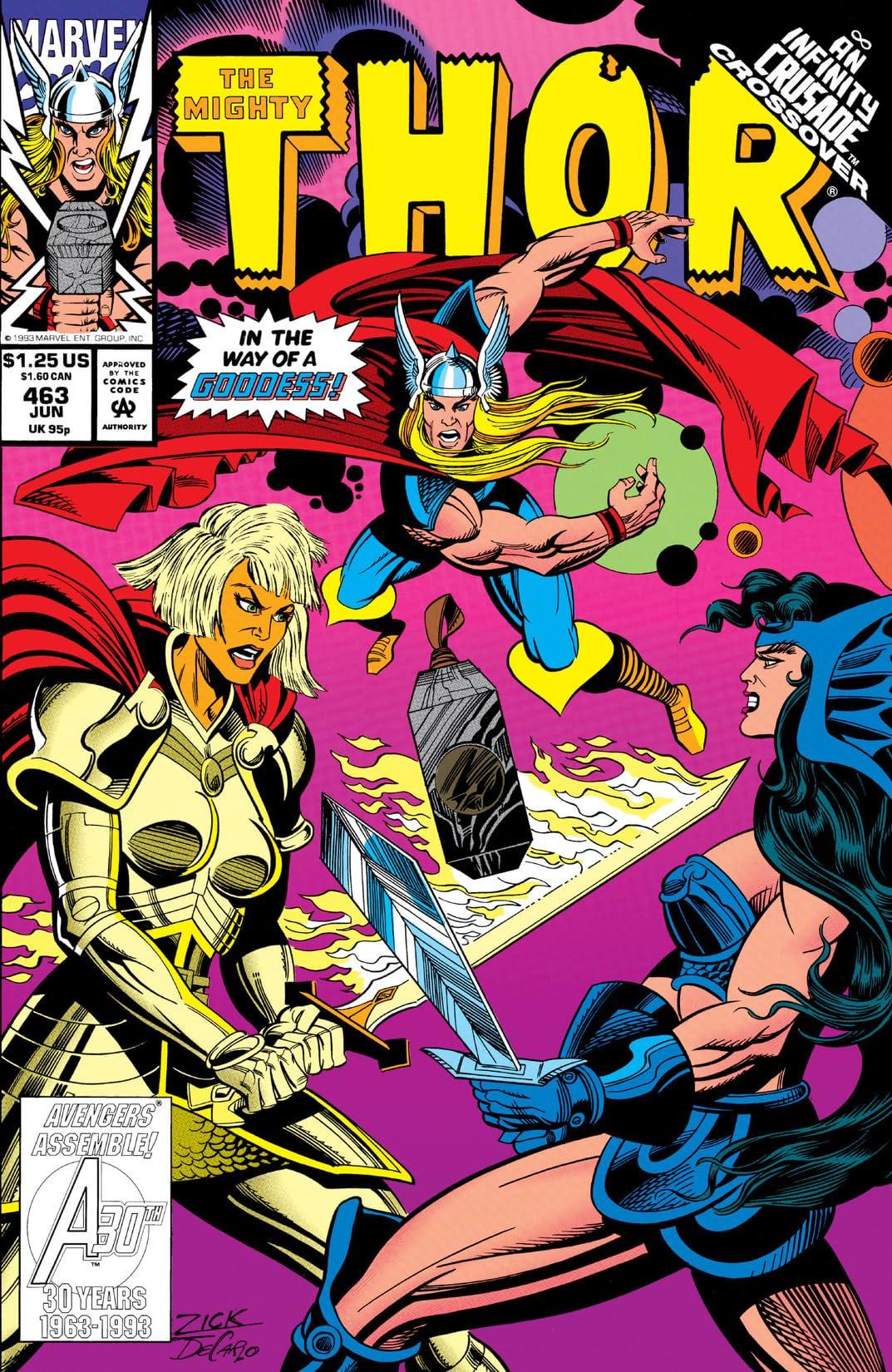 Thor (1966-1996) #463