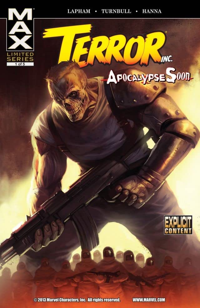 Terror, Inc. #1 (of 4): Apocalypse Soon