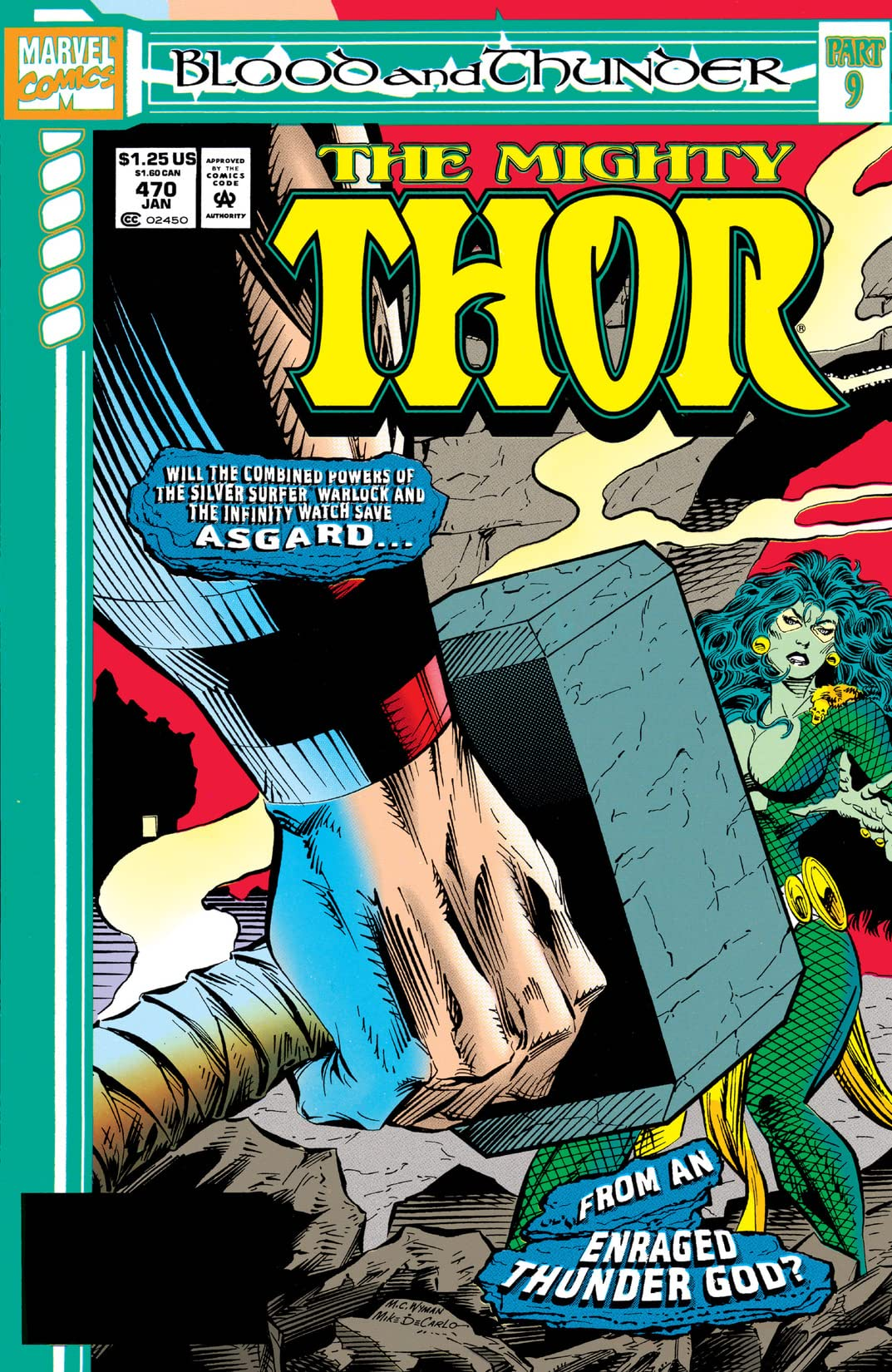 Thor (1966-1996) #470