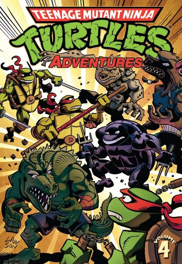 Teenage Mutant Ninja Turtles Adventures Vol. 4