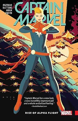Captain Marvel Vol. 1: Rise of Alpha Flight