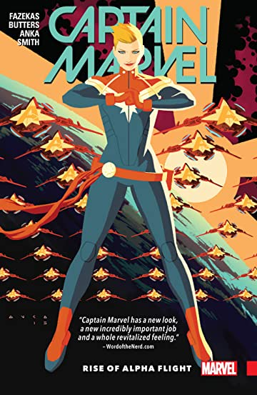 Captain Marvel Vol. 1: Rise of Alpha Flight