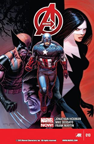 Avengers (2012-2015) No.10