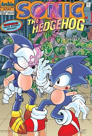 Sonic the Hedgehog #34