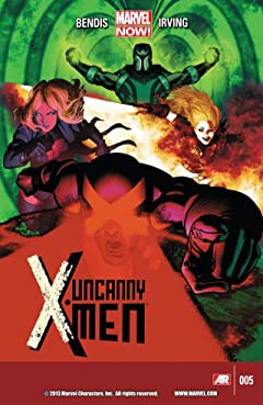 Uncanny X-Men (2013-2015) No.5