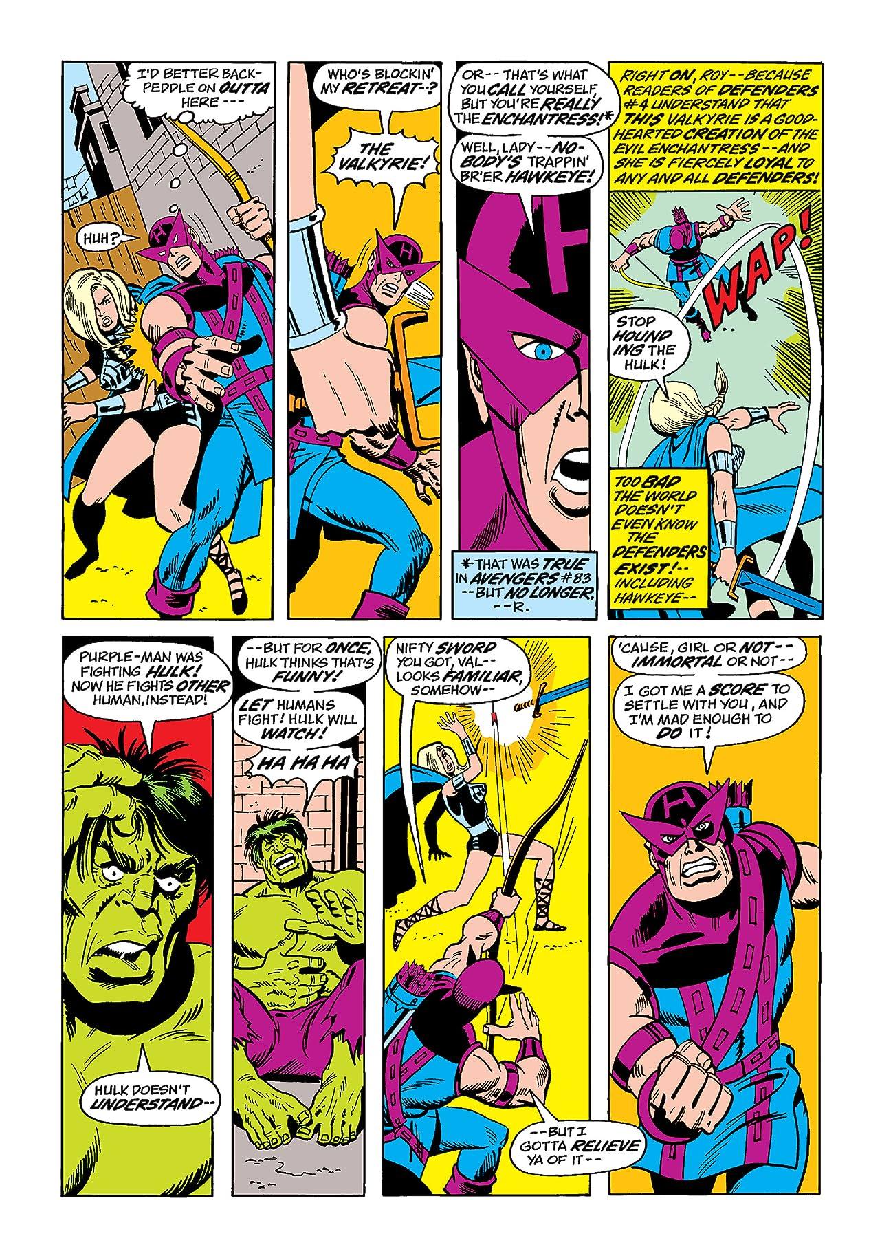 Defenders (1972-1986) #7