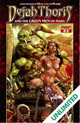 Dejah Thoris and the Green Men of Mars #3 (of 12)