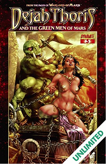 Dejah Thoris and the Green Men of Mars #3 (of 12)