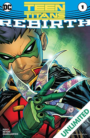 Teen Titans: Rebirth (2016) #1