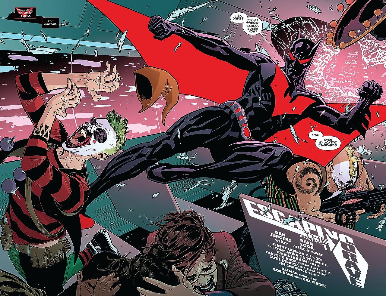Batman Beyond: Rebirth (2016) #1