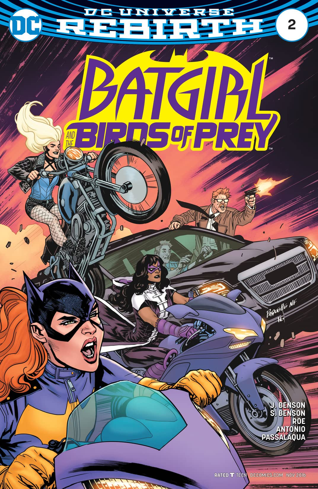 Batgirl and the Birds of Prey (2016-2018) #2