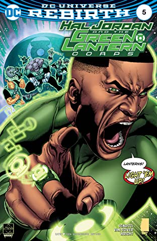 Hal Jordan and the Green Lantern Corps (2016-2018) #5