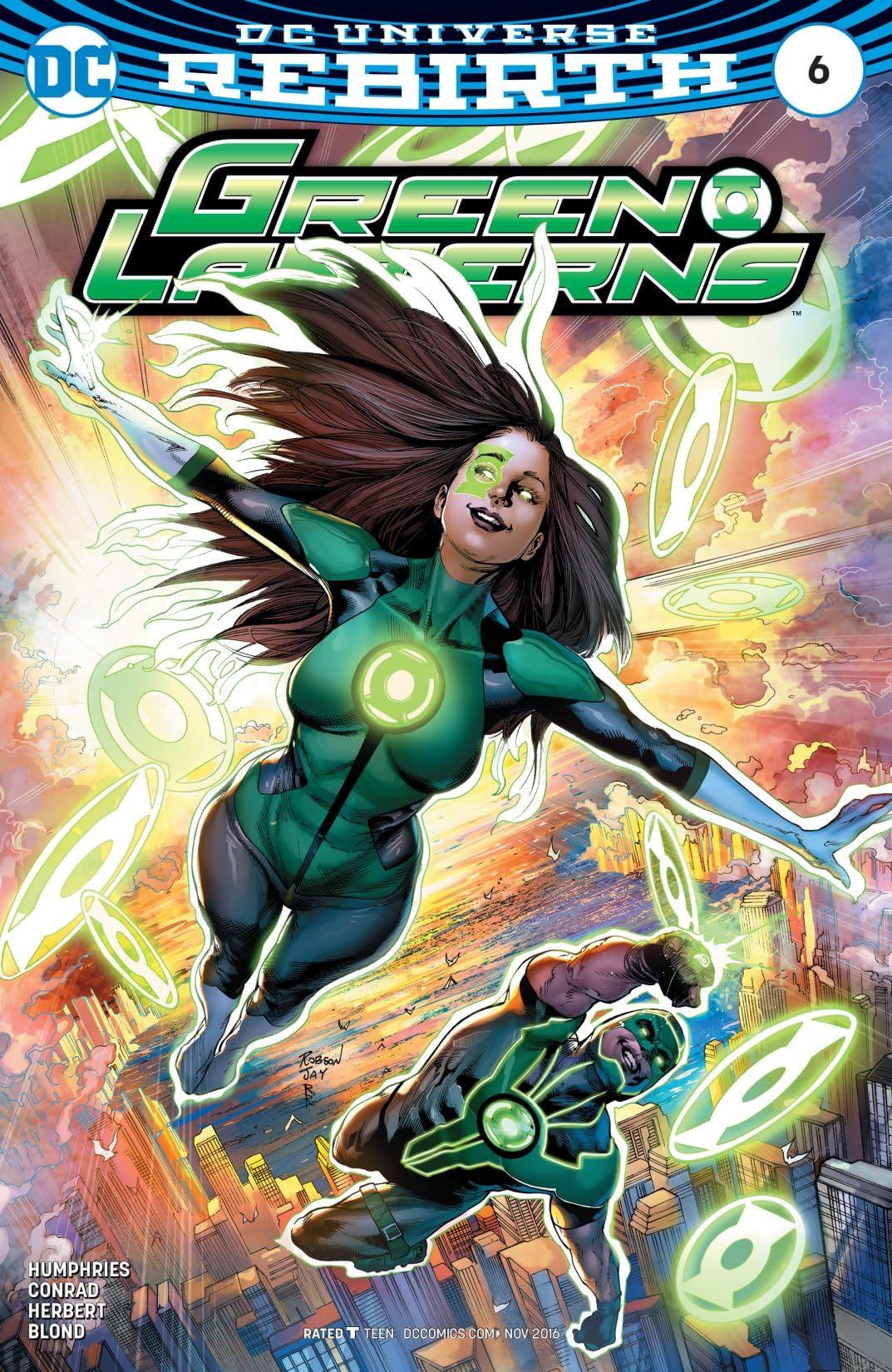 Green Lanterns (2016-) #6