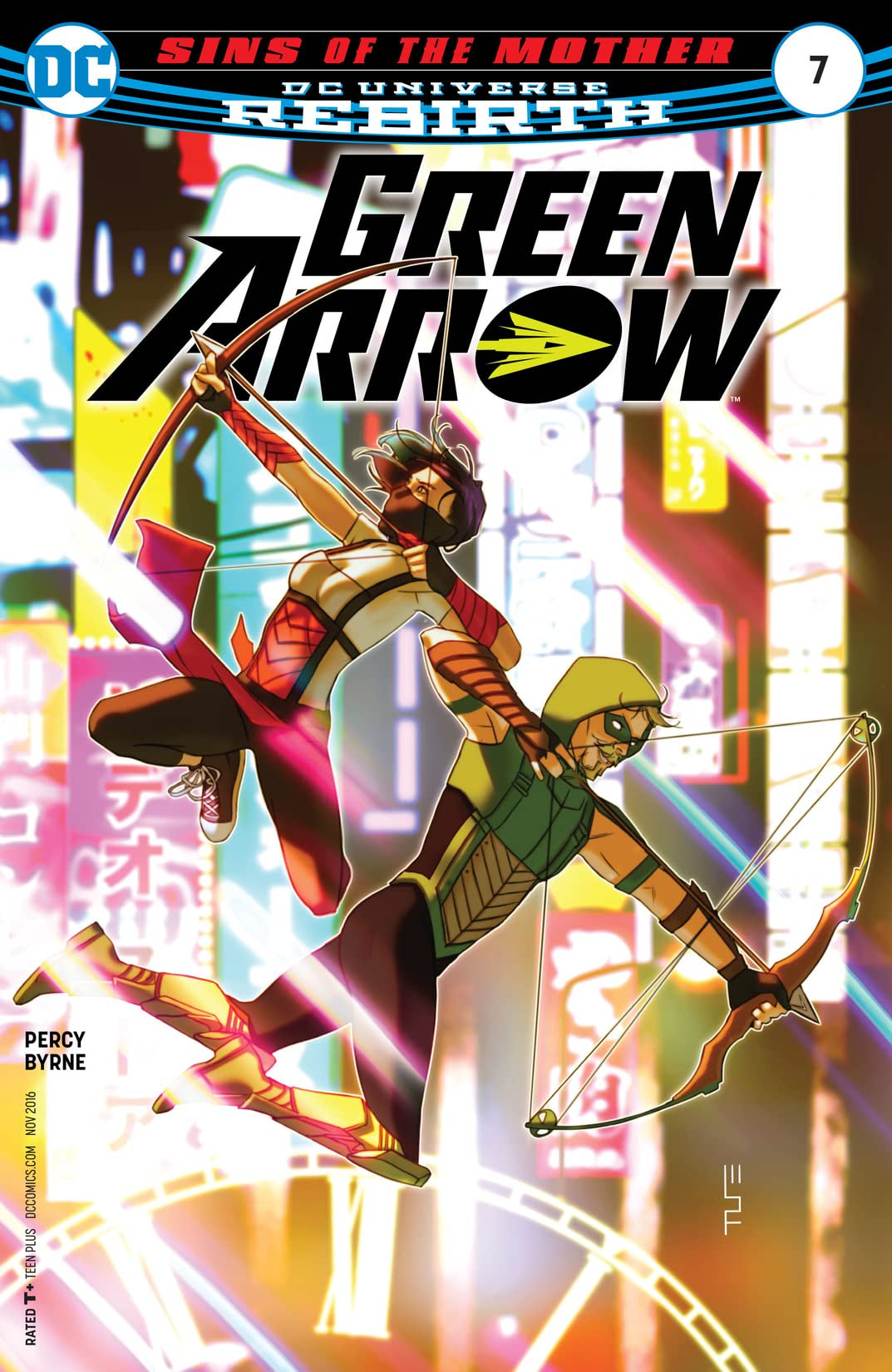 Green Arrow (2016-) #7