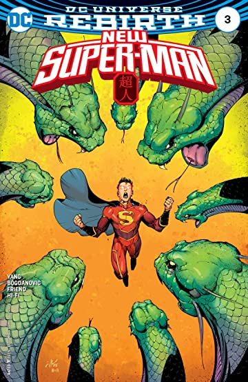 New Super-Man (2016-) #3