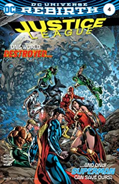 Justice League (2016-2018) #4