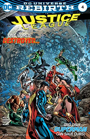 Justice League (2016-2018) No.4