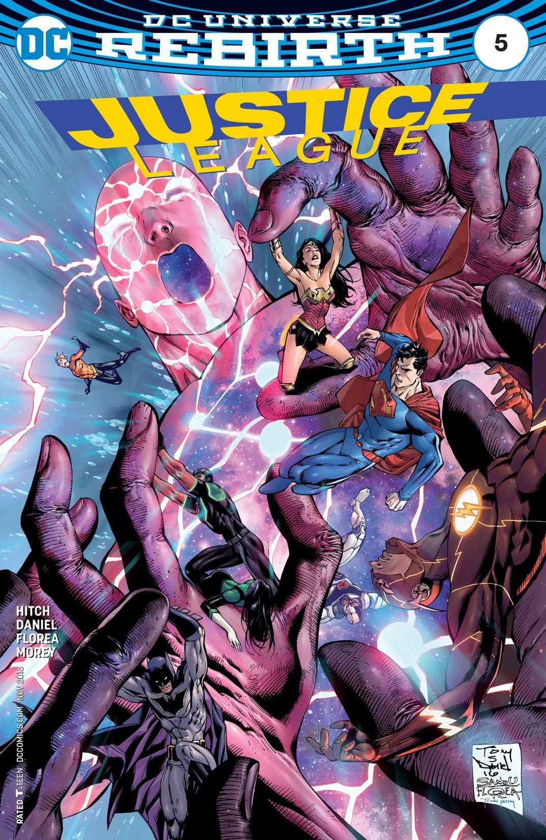 Justice League (2016-) #5