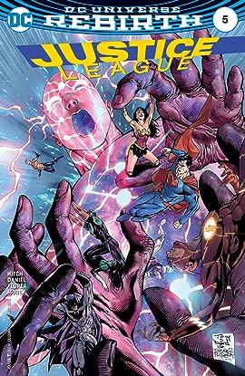 Justice League (2016-2018) #5