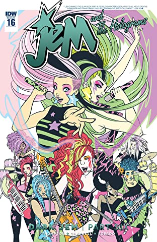 Jem and the Holograms (2015-2017) #16