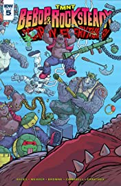 Teenage Mutant Ninja Turtles: Bebop & Rocksteady Destroy Everything #5