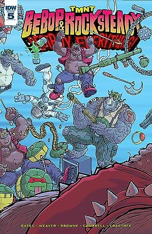 Teenage Mutant Ninja Turtles: Bebop & Rocksteady Destroy Everything No.5