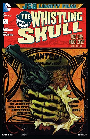 JSA Liberty Files: The Whistling Skull (2012) #5 (of 6)