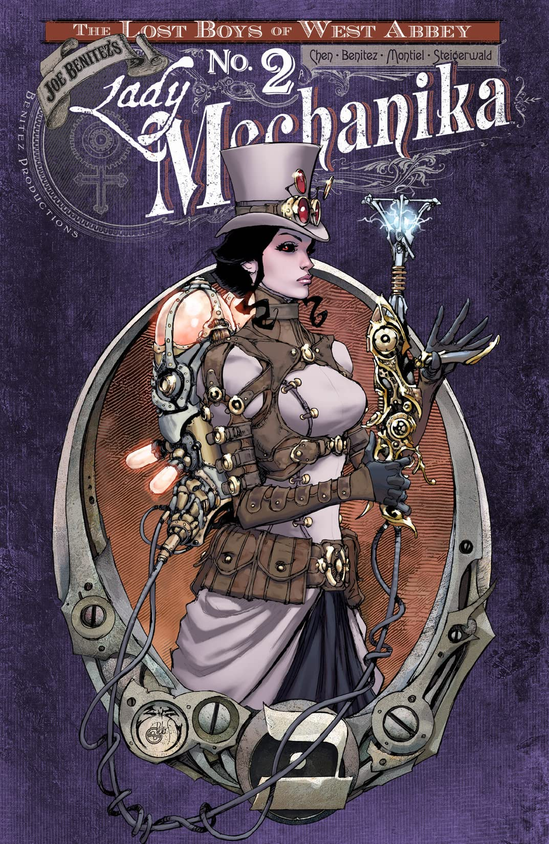 Lady Mechanika: Lost Boys of West Abbey #2