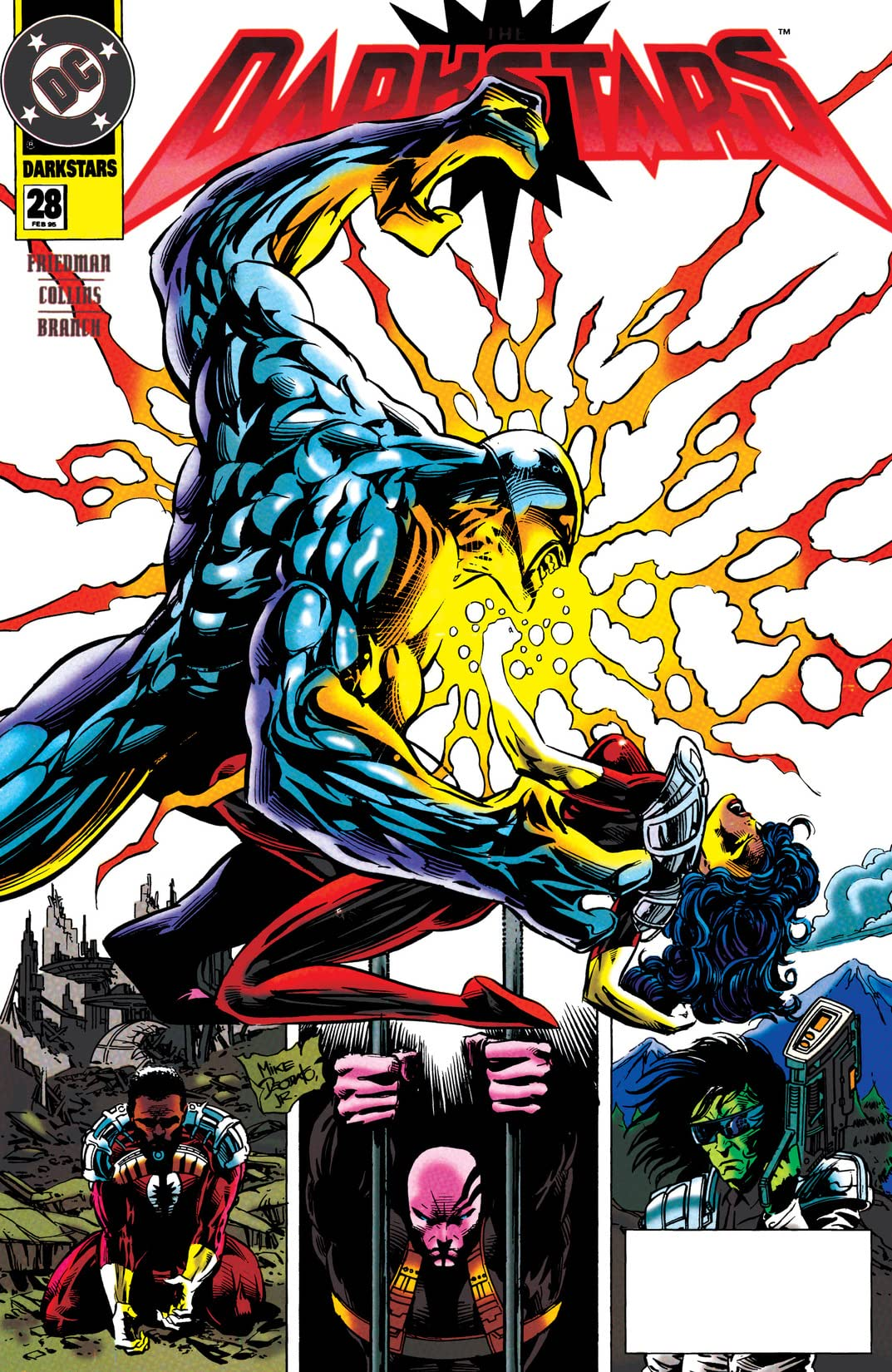 The Darkstars (1992-1996) #28