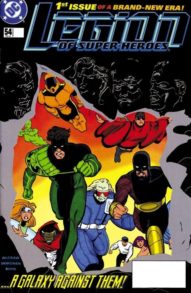 Legion of Super-Heroes (1989-2000) #54