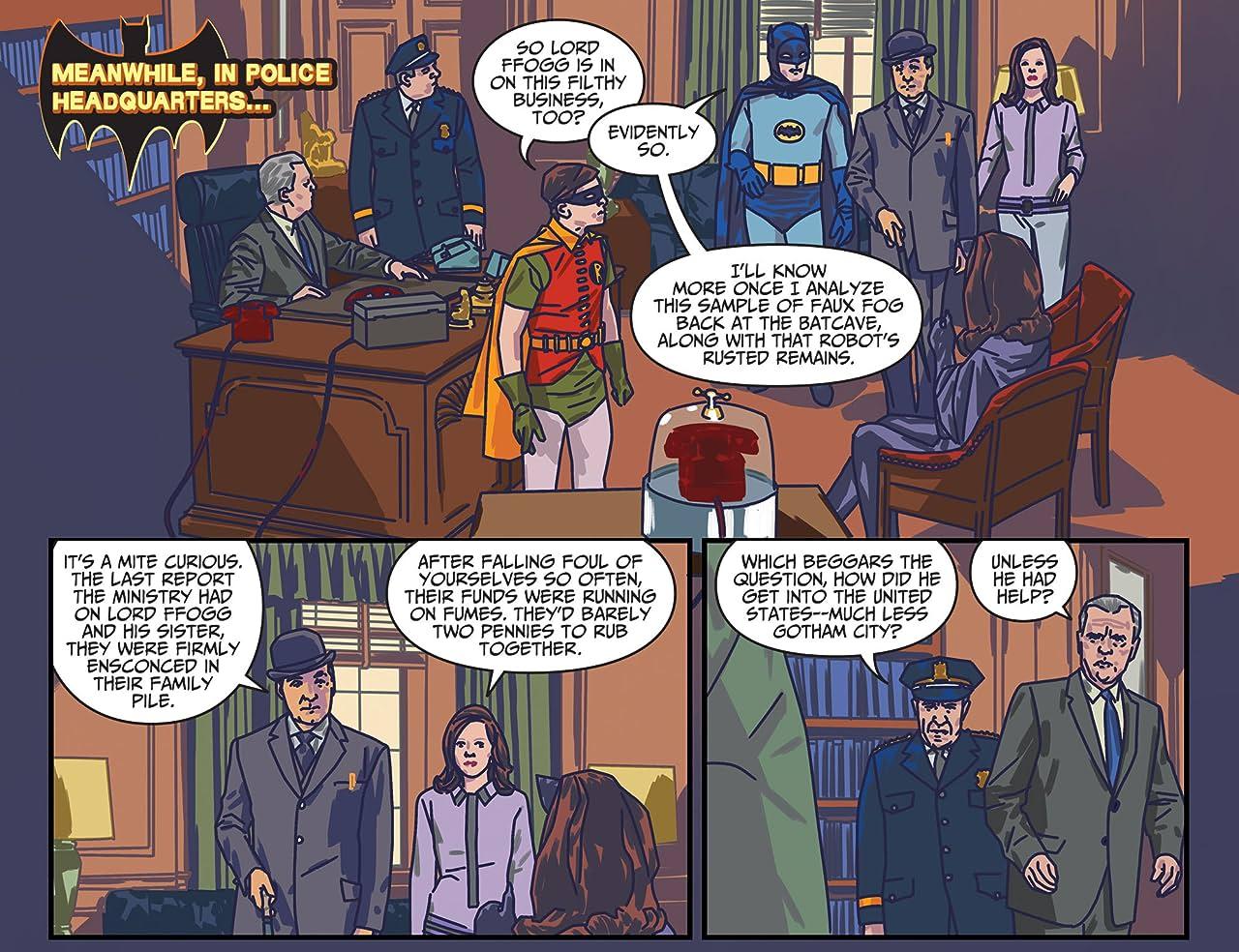 Batman '66 Meets Steed and Mrs Peel (2016) #4