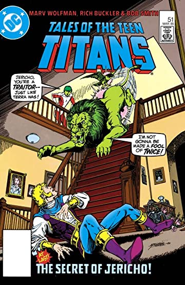 Tales Of The Teen Titans (1984-1988) #51