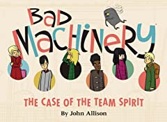 Bad Machinery Tome 1: Case of the Team Spirit Preview