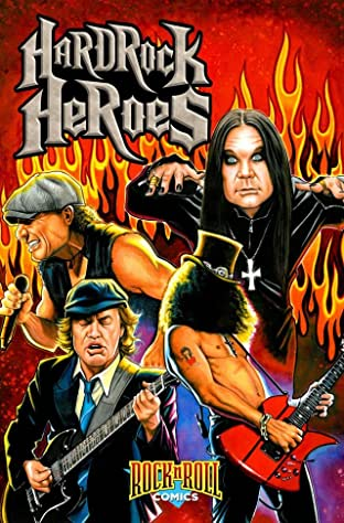 Rock N Roll Comics: Hard Rock Heroes