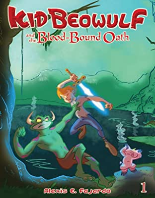 Kid Beowulf and the Blood-Bound Oath #1